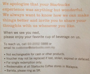 Build customer loyalty the Starbucks way