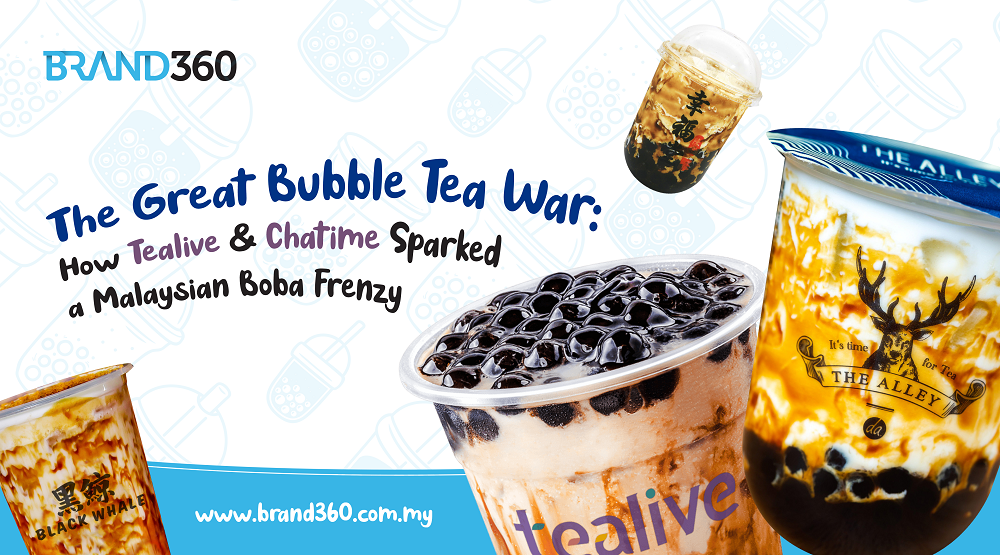 Malaysian bubble tea brands