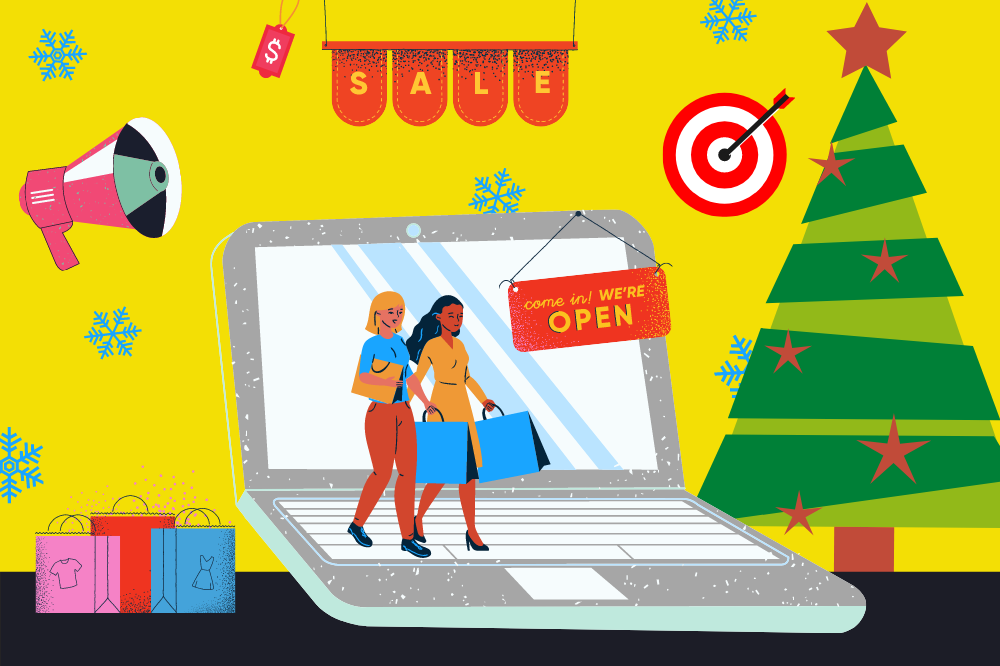 Promote business for Christmas