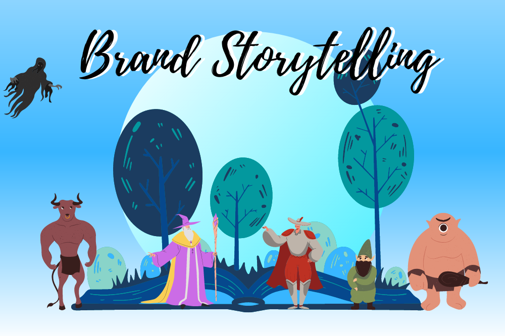 Brand story earns trust win customers